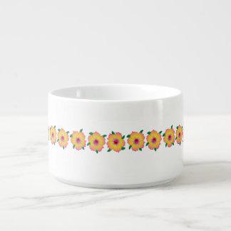 Hawaiian Hibiscus Flowers Bowl