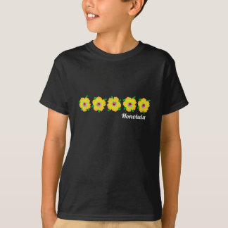 Hawaiian Hibiscus Flowers Honolulu Hawaii T-Shirt
