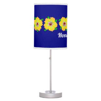 Hawaiian Hibiscus Flowers Honolulu Hawaii Table Lamp