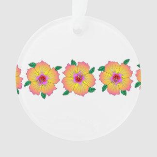 Hawaiian Hibiscus Flowers Ornament