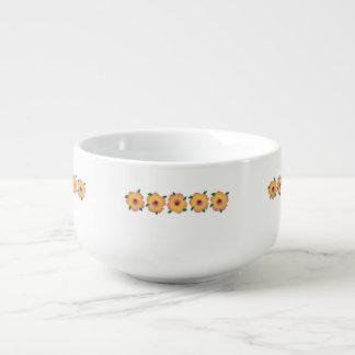 Hawaiian Hibiscus Flowers Soup Mug