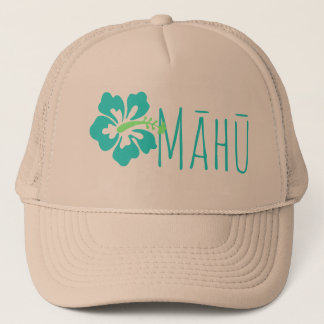 Hawaiian Hibiscus Māhū LGBT Third Gender Trucker Hat