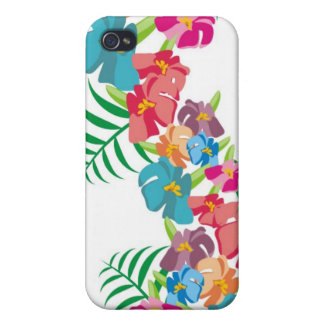 Hawaiian Hibiscus Paradise Cover For iPhone 4