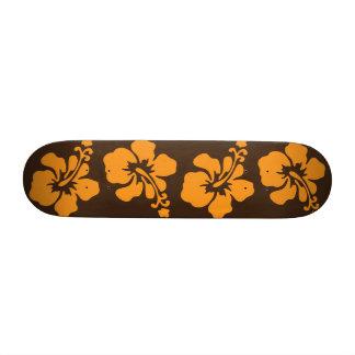 Hawaiian Hibiscus Skateboard