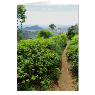 Hawaiian Hiking Trail Card