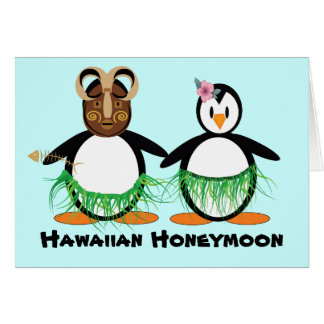 Hawaiian Honeymoon Card