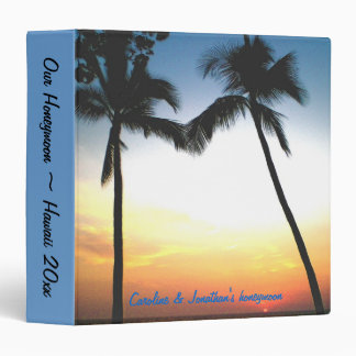 Hawaiian Honeymoon photo album Vinyl Binders