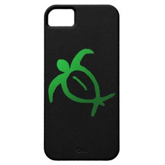 Hawaiian Honu Petroglyph on Black - iPhone 5 Case