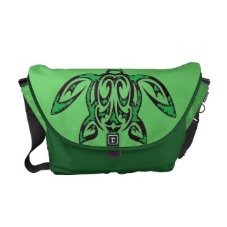 Hawaiian Honu Rickshaw Messenger Bag