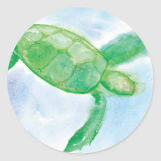Hawaiian Honu Sticker