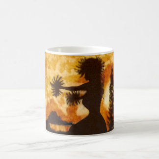 Hawaiian Hula Dancer 11 oz Morphing Mug