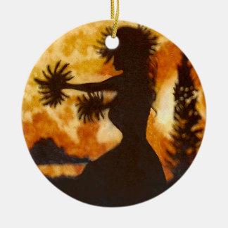 Hawaiian Hula Dancer Ornament