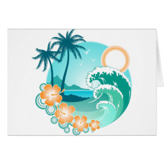Hawaiian Island 1 Card