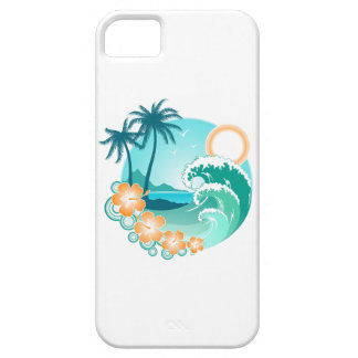 Hawaiian Island 1 iPhone 5 Covers