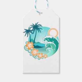 Hawaiian Island 1 Pack Of Gift Tags