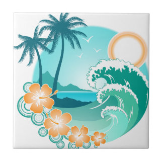 Hawaiian Island 1 Tile