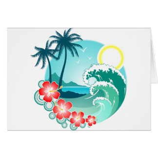 Hawaiian Island 2 Card