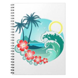 Hawaiian Island 2 Notebook