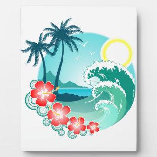 Hawaiian Island 2 Plaque