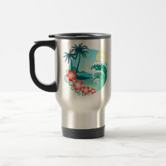 Hawaiian Island 2 Travel Mug
