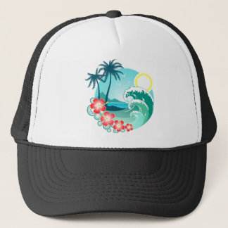 Hawaiian Island 2 Trucker Hat