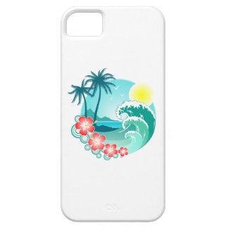 Hawaiian Island 3 iPhone 5 Case