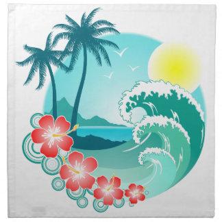 Hawaiian Island 3 Napkin