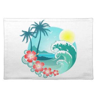 Hawaiian Island 3 Placemat