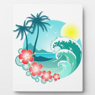 Hawaiian Island 3 Plaque