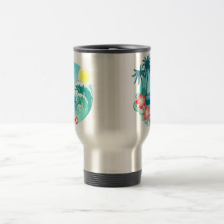 Hawaiian Island 3 Travel Mug