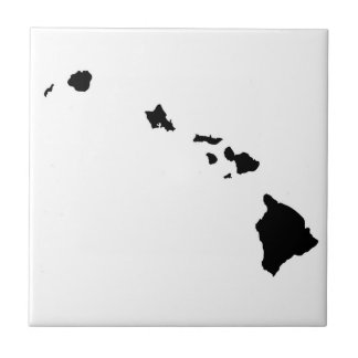 Hawaiian Island Chain Ceramic Tile