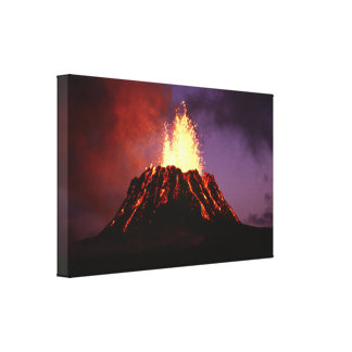 Hawaiian Islands Volcano Canvas Print