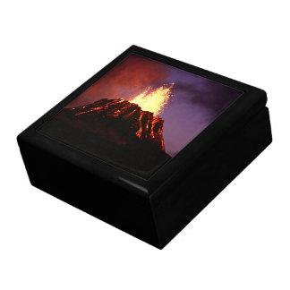 Hawaiian Islands Volcano Gift Box