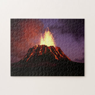 Hawaiian Islands Volcano Jigsaw Puzzle