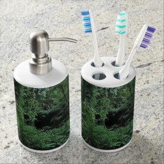 Hawaiian Jungle Bathroom Set