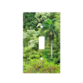 Hawaiian Jungle Light Switch Cover