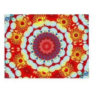 Hawaiian Kaleidoscope Postcard