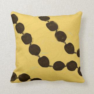 Hawaiian Kukui Nut Throw Pillow
