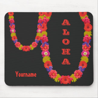 Hawaiian Lei custom mousepad