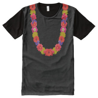 Hawaiian Lei custom t-shirt