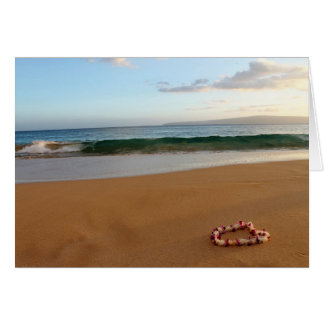 Hawaiian Lei Greeting Card