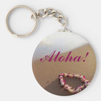 Hawaiian Lei Keychain