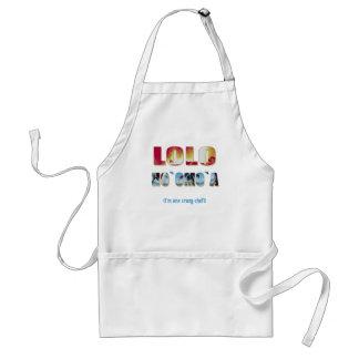 """Hawaiian """"Lolo Ho`omo`a"""" Chef's Apron"""