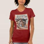 Hawaiian Love Ladies dark short sleeve T-Shirt