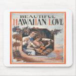 Hawaiian Love Mousepad