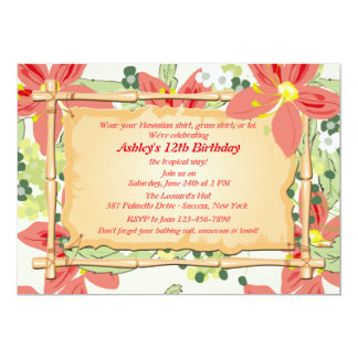 Luau Birthday Invitations Announcements Zazzle Canada