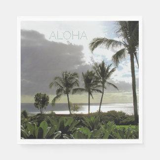 HAWAIIAN LUAU/TROPICAL BEACH THEME/PARTY NAPKINS PAPER NAPKINS