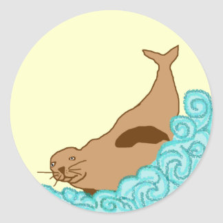 Hawaiian Monk Seal stickers
