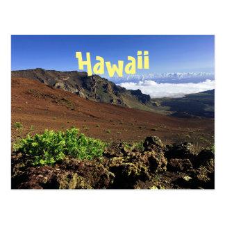 Hawaiian Mountain Range Postcard