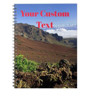 Hawaiian Mountain Range Spiral Notebook